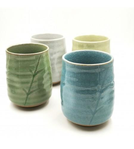 Coffret 4 Mugs céramique japonaise