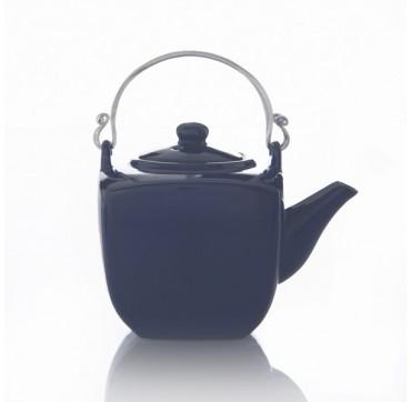 """Théière """"Kyoto"""" céramique bleu nuit 0.60l"""