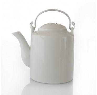 """Théière """"Imperiale"""" céramique crème 0.80L"""