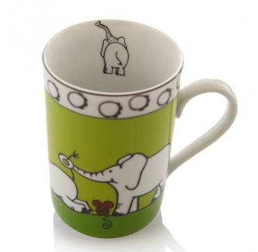 Mug enfant vert éléphant