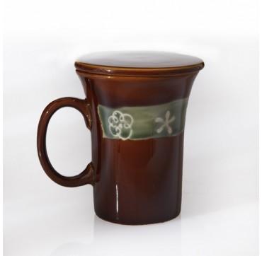 Mug + filtre + couvercle