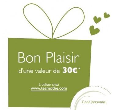 Bon cadeau 30 Euros