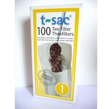 Boîte 100 filtres papier N°1
