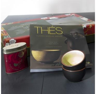 Boîte cadeau autour du thé