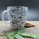 Tasse bleue japon avec anse 200ml motif papillon
