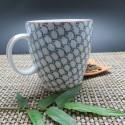 Tasse céramique japon avec anse 200 ml motif écaille
