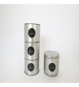 Petites boîtes empilables métal