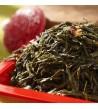 Thé vert parfumé rouge ardent